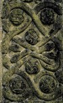 Serpents on Gravestone St. Mary's Church, Fortingall