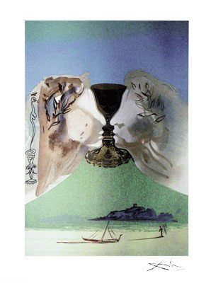 Chalice of Love by Salvador Dali