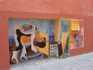 Musical Mural in Girona