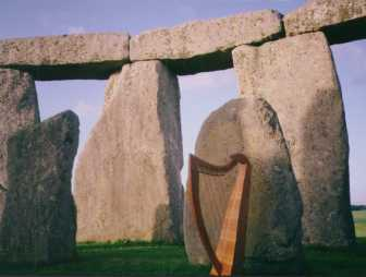 Harp at Stonehenge