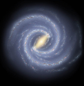 Milky Way NASA JPL